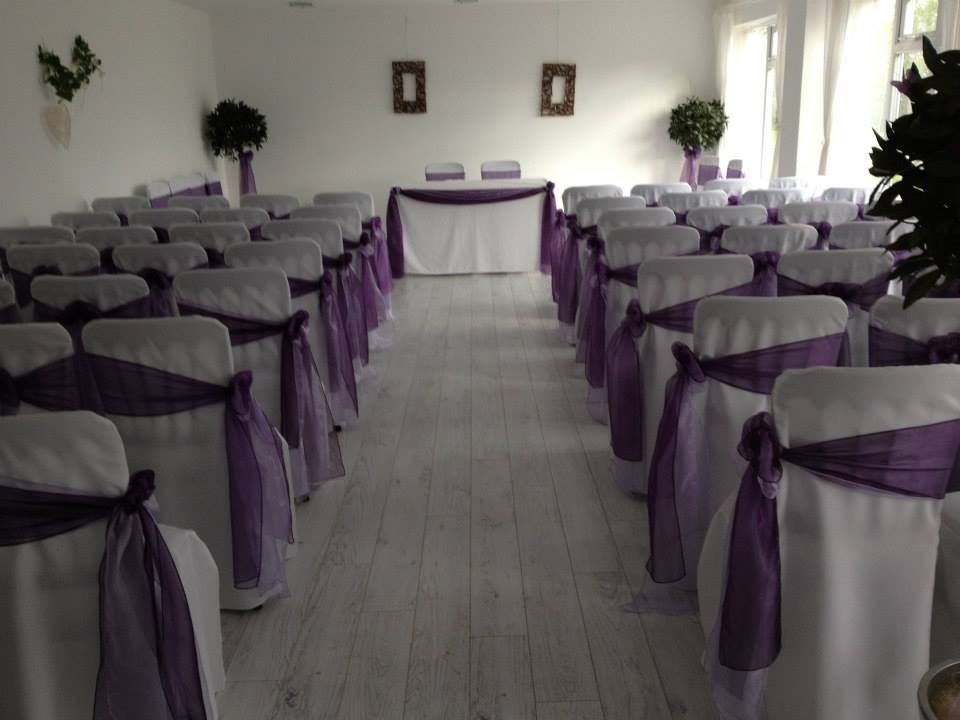 Lush Occassions Chair Covers, Sashes and Centrepieces